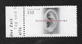 German MNH Scott #2020 Catalog Value $1.20