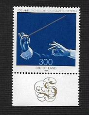 German MNH Scott #2022 Catalog Value $3.50