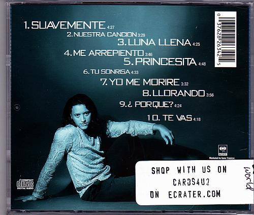 Suavemente by Elvis Crespo CD 1998 - Very Good