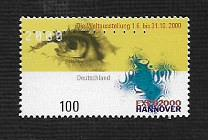 German MNH Scott #2060 Catalog Value $1.20
