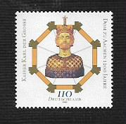 German MNH Scott #2062 Catalog Value $1.30