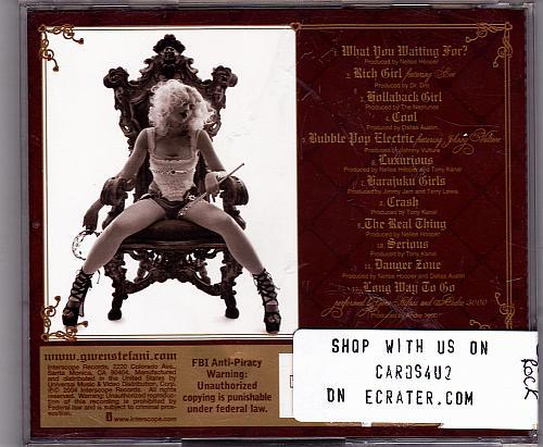 Love.Angel.Music.Baby. by Gwen Stefani CD 2004 - Very Good