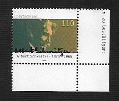 German MNH Scott #2065 Catalog Value $1.30