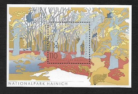 German MNH Scott #2079 Catalog Value $2.00
