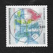 German Used Scott #2083 Catalog Value $3.75