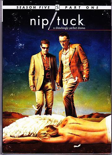Nip/Tuck - Season 5 Part 1 DVD 2008, 5-Disc Set - Very Good