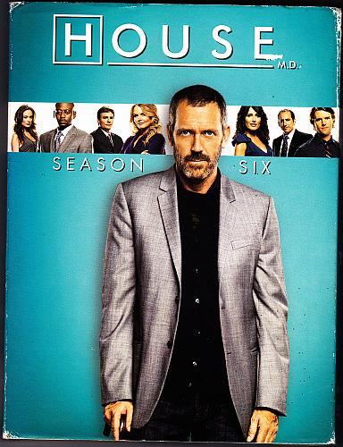 House - Complete 6th Season DVD 2010, 5-Disc Set - Very Good