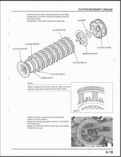 1998-2003 Honda VT750C / CD / CD2 Shadow / Ace Service Shop Manual on a CD
