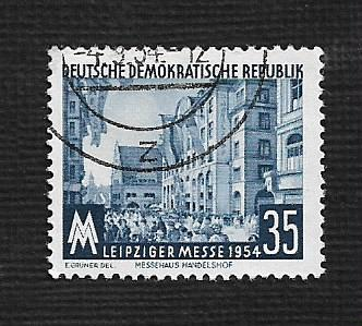 Germany DDR Used Scott #215 Catalog Value $.50