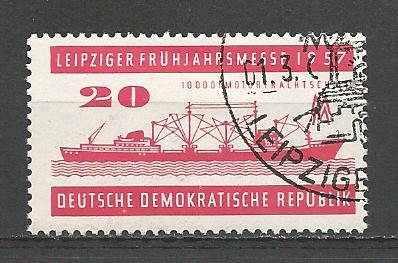 Germany DDR Used Scott #323 Catalog Value $.25
