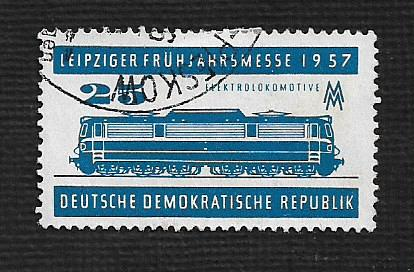 Germany DDR Used Scott #324 Catalog Value $.25