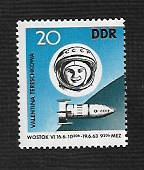 German DDR Hinged Scott #655 Catalog Value $.60