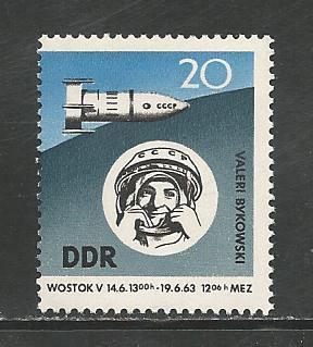 German DDR Hinged Scott #656 Catalog Value $.60