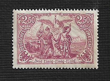 German MNH Scott #114 Catalog Value $1.59