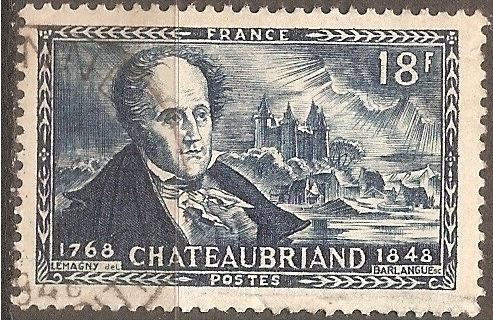 [FR0603] France: Sc. no. 603 (1948) Used Single