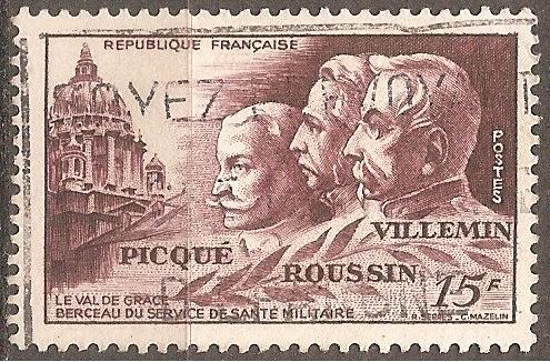 [FR0656] France: Sc. no. 656 (1951) Used single