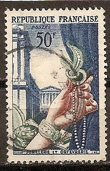 [FR0714] France: Sc. no. 714 (1954) Used