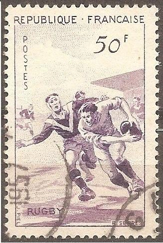 [FR0803] France: Sc. no. 803 (1956) Used