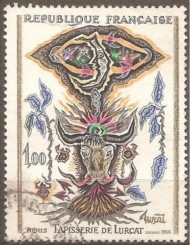 [FR1152] France: Sc. no. 1152 (1966) Used