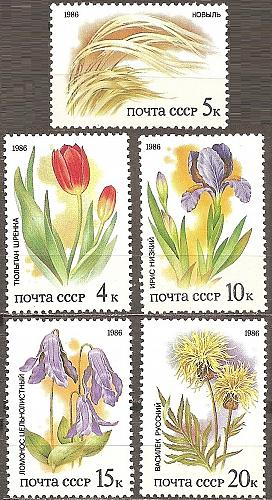 [RU5424] Russia: Sc. no. 5424-5228 (1984) MNH Full Set