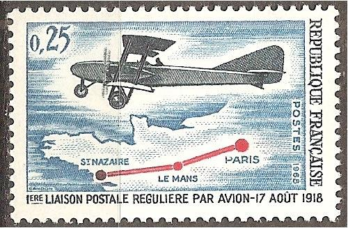 [FR1218] France: Sc. no. 1218 (1968) MNH single