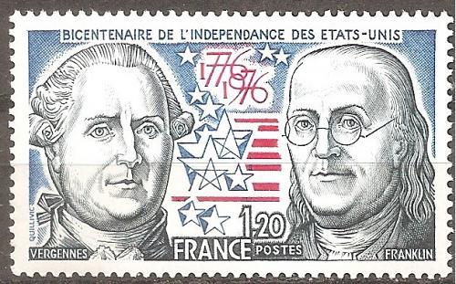 [FR1480] France: Sc. no. 1480 (1976) MNH single