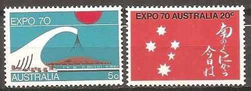 [AU0472] Australia: Sc. no. 472-473 (1970) MNH Complete Set