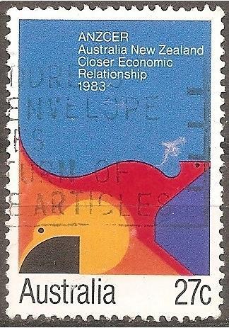 [AU0863] Australia: Sc. no. 863 (1983) Used Single