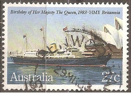 [AU0868] Australia: Sc. no. 868 (1983) Used Single