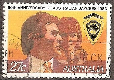 [AU0870] Australia: Sc. no. 870 (1983) Used Single