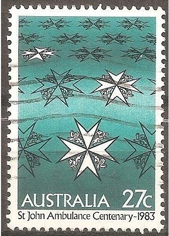 [AU0871] Australia: Sc. no. 871 (1983) Used Single