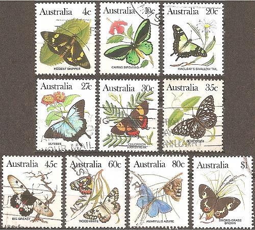 [AU0872] Australia: Sc. no. 872-873 (1983) Used Complete Set