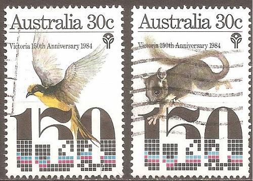 [AU0940] Australia: Sc. no. 940-941 (1984) Used Complete Set