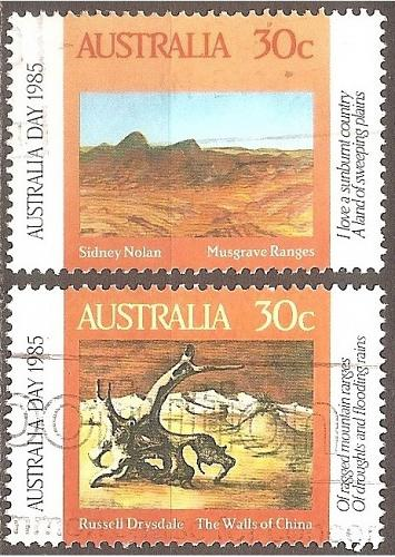 [AU0942] Australia: Sc. no. 942-943 (1985) Used Complete Set