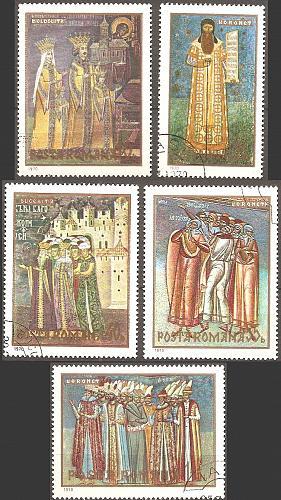 [RO2179] Romania: Sc. no. 2179-2183 (1970) CTO