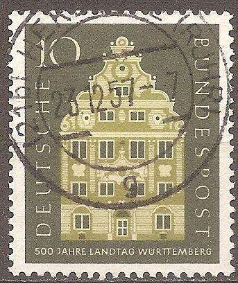 [GE0778] Germany: Sc. no. 778 (1957) Used Single