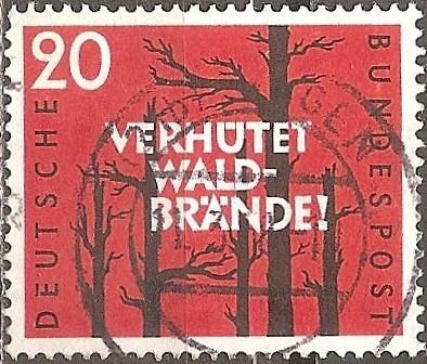 [GE0782] Germany: Sc. No. 782 (1958) Used Single