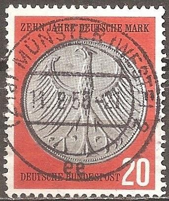 [GE0787] Germany: Sc. No. 787 (1958) Used Single