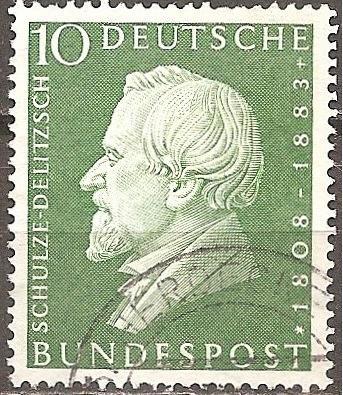 [GE0789] Germany: Sc. No. 789 (1958) Used Single