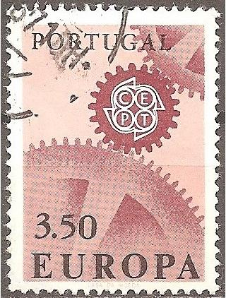 [PT0995] Portugal: Sc. no. 995 (1967) Used