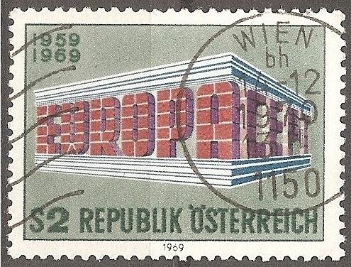 Austria: Sc. no. 0837 (1969) Used