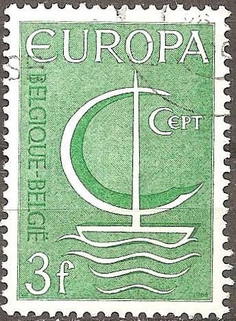 Belgium: Sc. no. 0675 (1966) Used