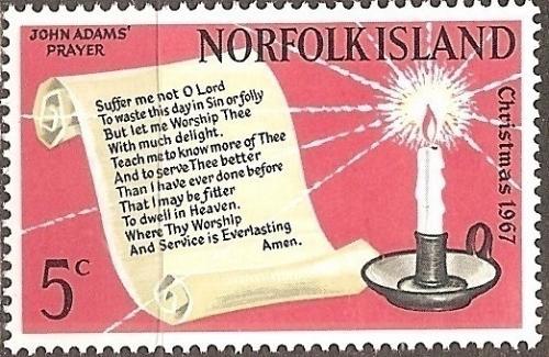 [NI0115] Norfolk Island: Sc. no. 115 (1967) MNH Single