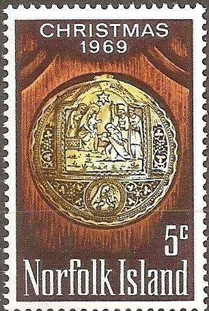 [NI0125] Norfolk Island: Sc. no. 125 (1969) MNH Single