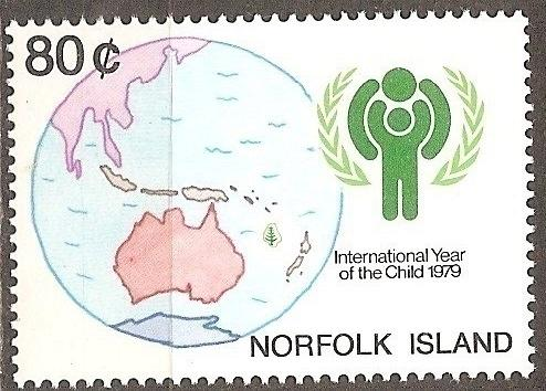 [NI0250] Norfolk Island: Sc. no. 250 (1979) MNH Single