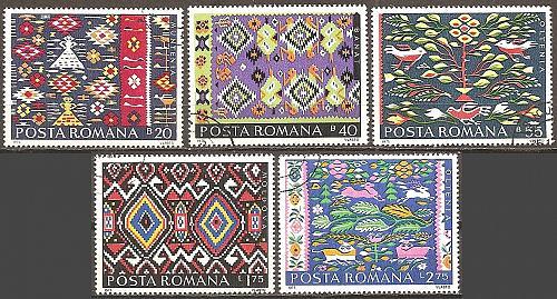[RO2583] Romania: Sc. no. 2583-2587 (1975) CTO