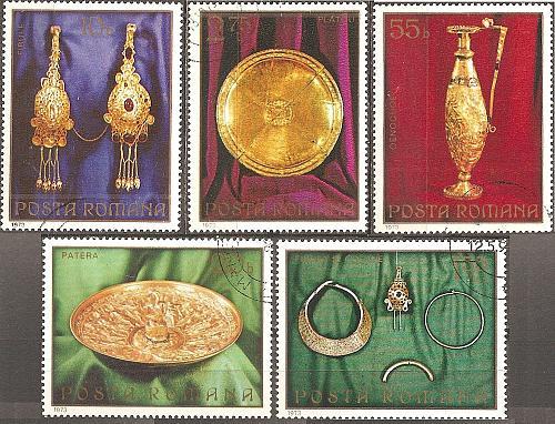 [RO2428] Romania: Sc. no. 2428-2432 (1973) CTO