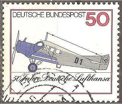[GE1207] Germany: Sc. No. 1207 (1976) Used Single