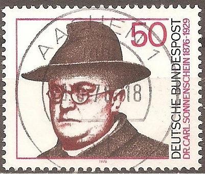 Germany: Sc. No. 1213 (1971) Used Single