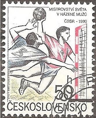 [CZ2778] Czechoslovakia: Sc. no. 2778 (1990) CTO single
